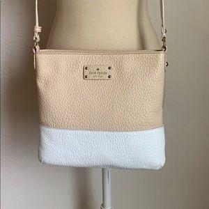 Kate spade colorblock leather crossbody purse